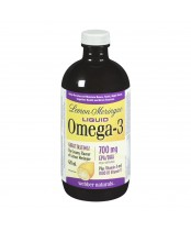 Webber Naturals Lemon Meringue Liquid Omega-3 With Vitamins A & D