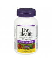Webber Naturals Liver Health with Milk Thistle