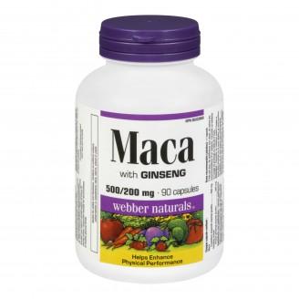 Webber Naturals Maca with Ginseng