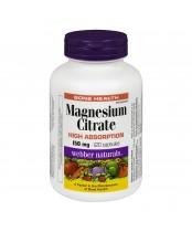 Webber Naturals Magnesium Citrate Capsules