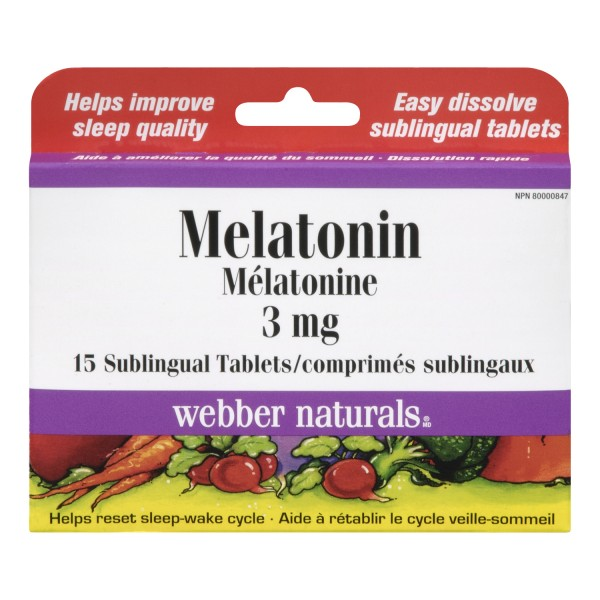 Webbers melatonin