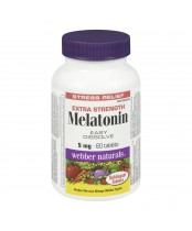 Webber Naturals Melatonin Extra Strength
