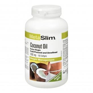 Webber Naturals MetaSlim Extra Virgin Coconut Oil Softgels