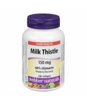Webber Naturals Milk Thistle Softgels