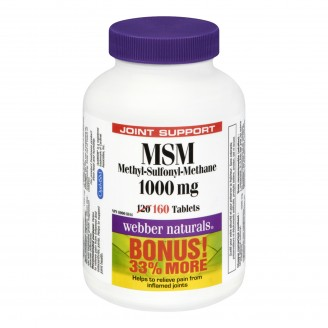 Webber Naturals MSM Bonus Size