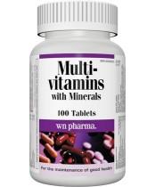 Webber Naturals Multivitamins with Minerals Tablets