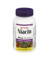 Webber Naturals No Flush Niacin