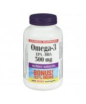 Webber Naturals Omega-3 Bonus Size