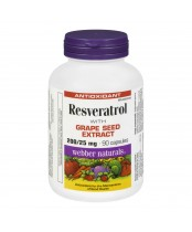 Webber Naturals Resveratrol with Grape Seed Extract