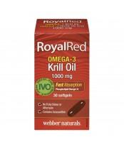 Webber Naturals Royal Red Omega-3 Krill Oil Softgels