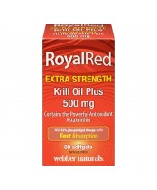 Webber Naturals RoyalRed Krill Oil Plus Softgels