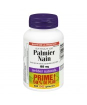 Webber Naturals Saw Palmetto Softgels Bonus Size