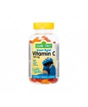 Webber Naturals Sesame Street Super Boost Vitamin C Gummies