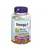 Webber Naturals Triple Strength Omega-3 Softgels