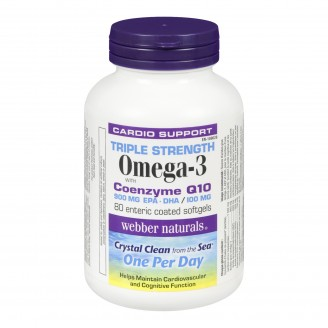 Webber Naturals Triple Strength Omega-3 with CoQ10