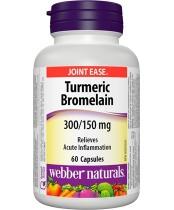 Webber Naturals Turmeric Bromelain Capsules