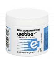Webber Vitamin E  First Aid Cream