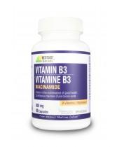 Westcoast Naturals Vitamin B3 Niacinamide Capsules