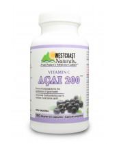 Westcoast Naturals Vitamin C Acai 200 Vegetarian Capsules