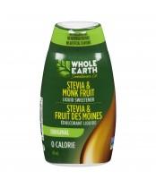 Whole Earth Stevia & Monk Fruit Liquid Sweetener Original