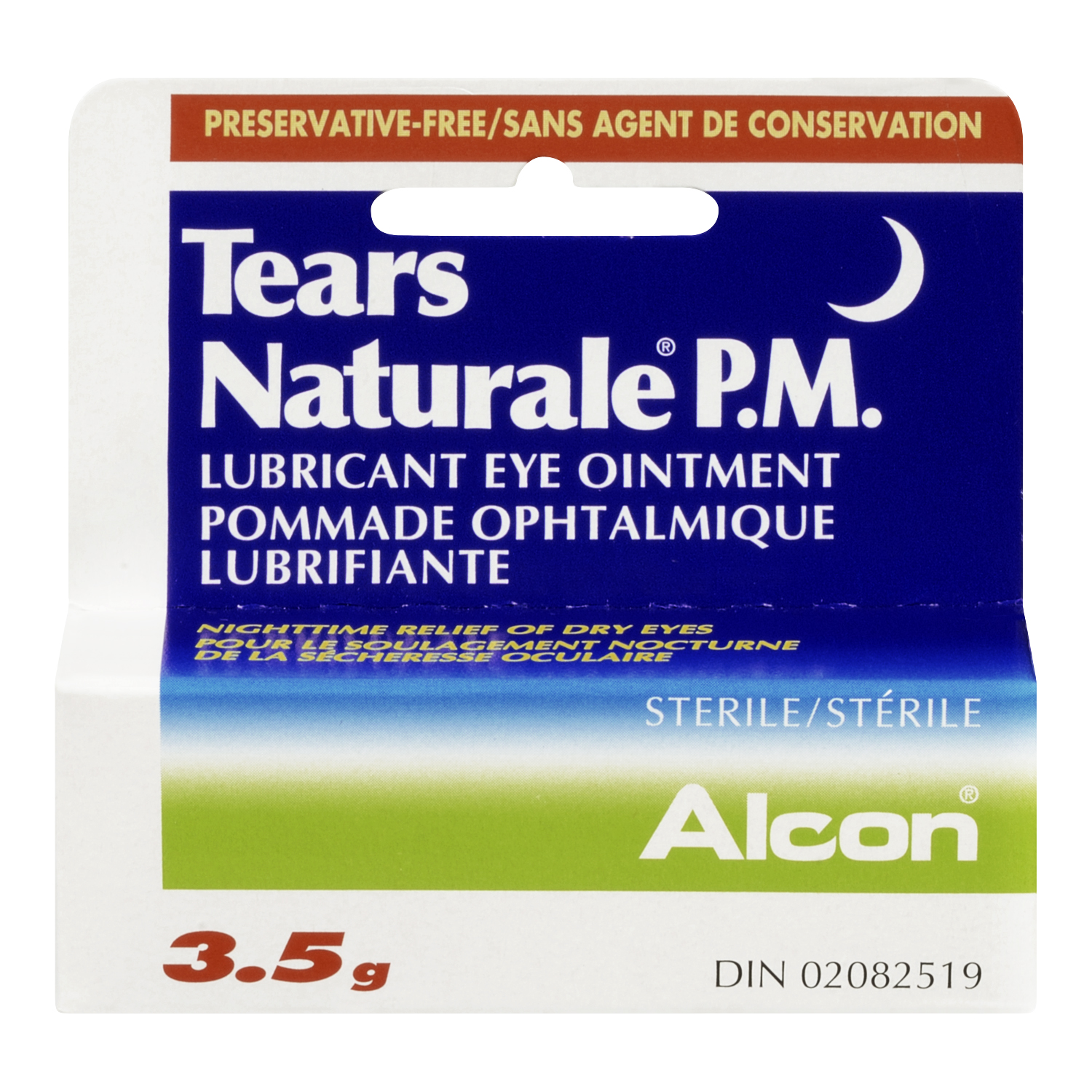 Alcon Tears Naturale P.M. Lubricant Eye Ointment