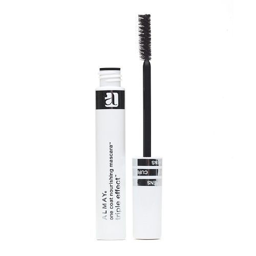 Almay One Coat Triple Effect Mascara, Black, Washable