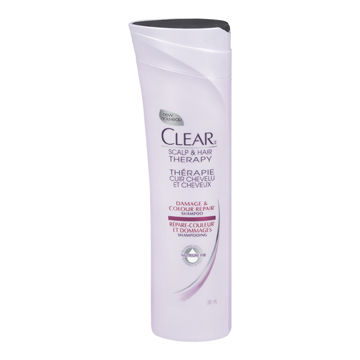 Clear Scalp & Hair Therapy Damage & Colour Repair Shampoo