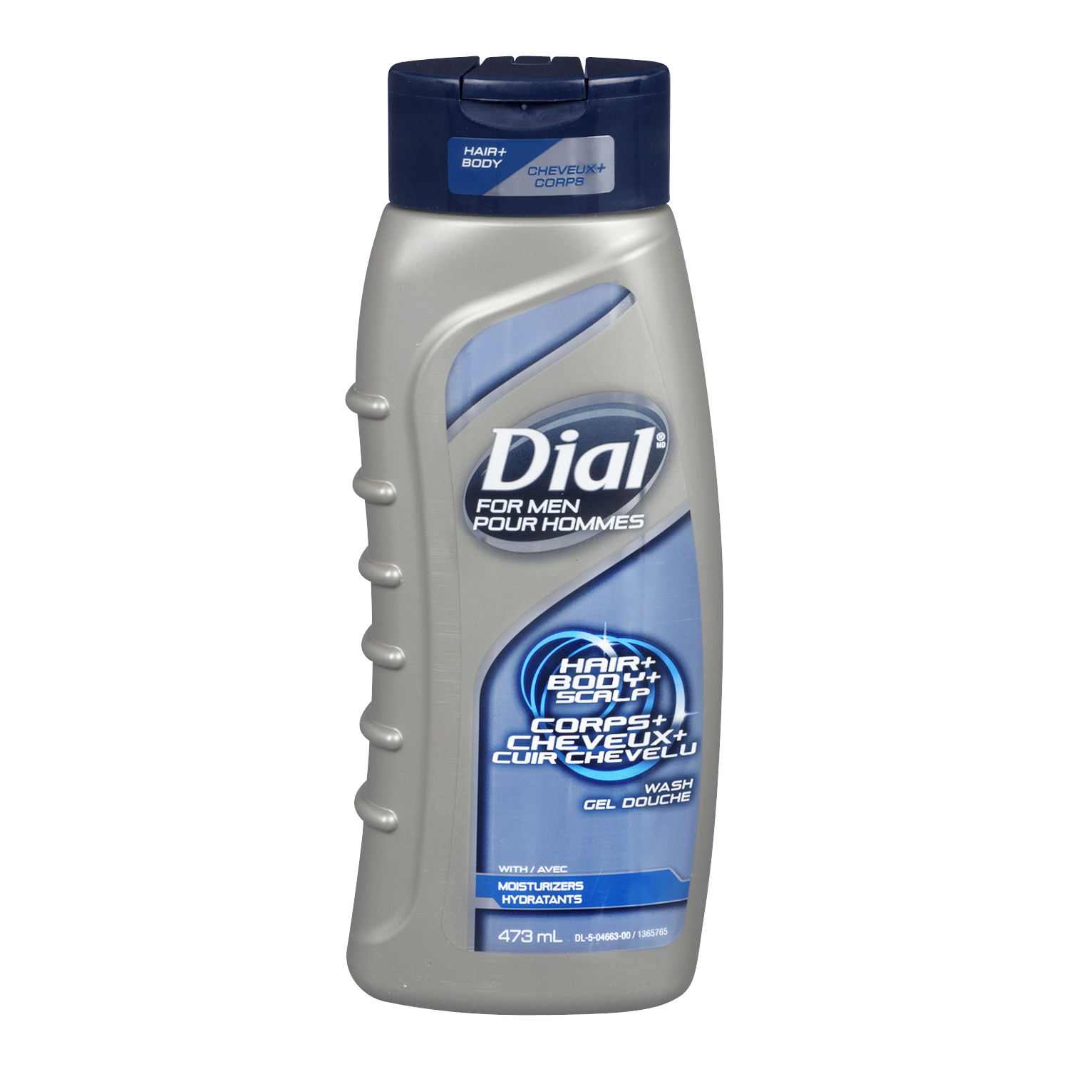Dial For Men Hair + Body + Scalp Wash, With Moisturizers, 473 mL