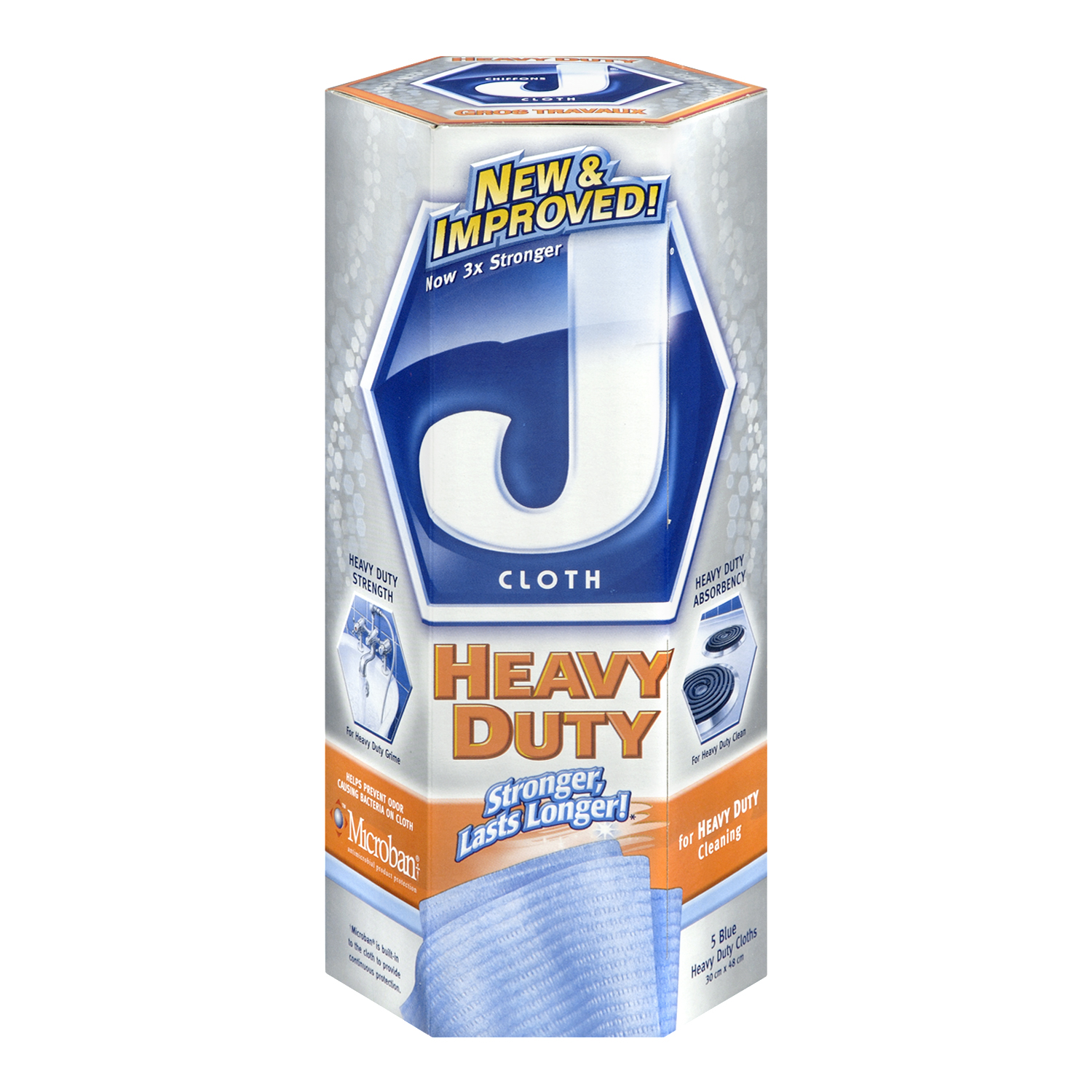 J Cloth Heavy Duty Cleaning Cloths