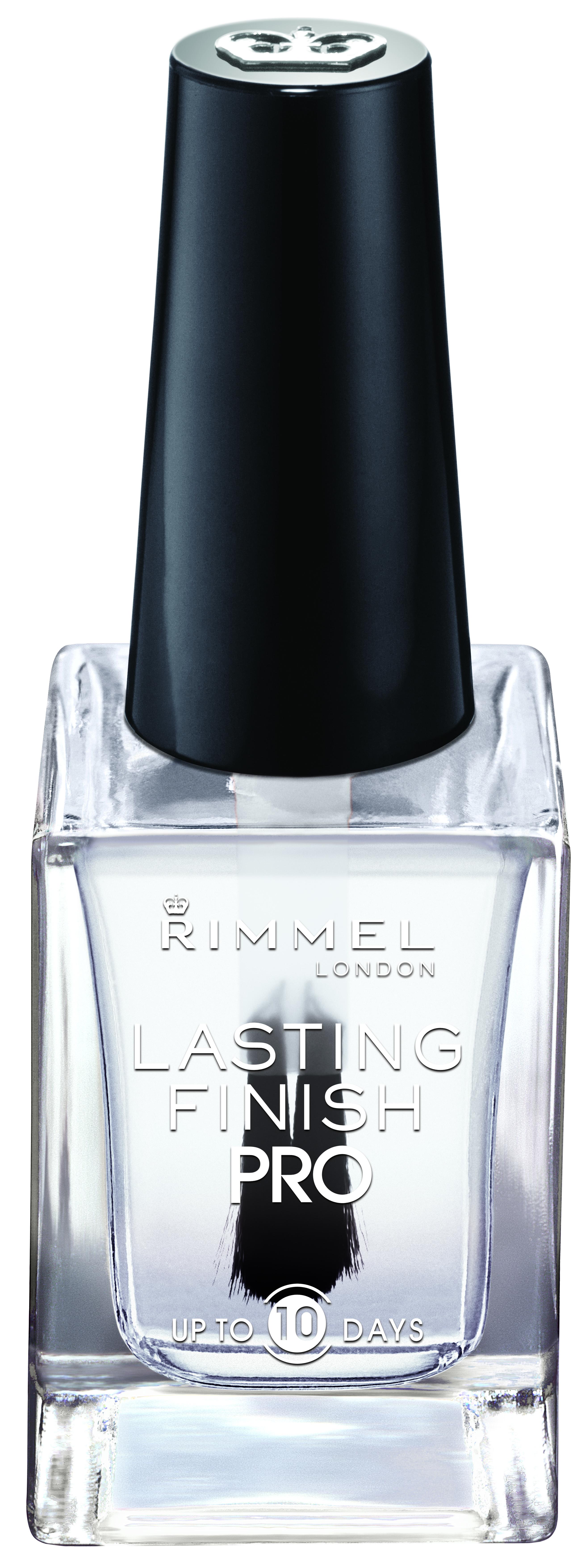 Rimmel London Lasting Finish Pro Nail Enamel, Crystal Clear